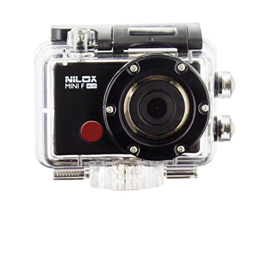 Galleria fotografica Nilox Mini F Wi-Fi Action Cam Full HD, Nero