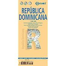 Dominican Republic / Republica Dominicana 1 : 600 000: Dominican Republic, Puerto Plata & Region, Puerto Plata, Santiago, Santo Domingo & Region, Santo Domingo, Colonial Santo Domingo