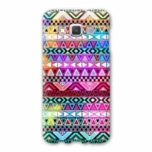 Coque Samsung Galaxy A5 motifs Aztec azteque - azteque rouge B
