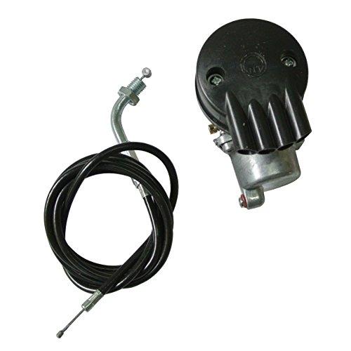 JRL Vergaser + Kabel Bremsbeläge für Fahrrad Motor Benzin 2Zeit 49cc 80CC Motor Gasdruckfeder Motorisierungs-Set Kit Motorized Bike