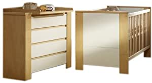 schardt 08 965 37 01 kinderzimmer cube birke kombi kinderbett 70 x 140 cm umbauseitensatz. Black Bedroom Furniture Sets. Home Design Ideas
