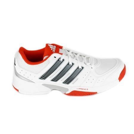 adidas ,  Scarpe da tennis uomo bianco/rosso, (Blanc-Noir-Rouge), 47