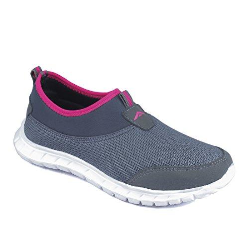 ASIAN Women's Riya-51 Running Shoes,Walking Shoes Mesh Sports Shoes (UK-5, Grey)