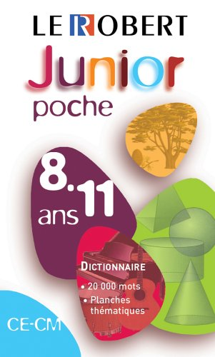 Le Robert Junior : CE-CM, 8-11 ans