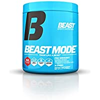 Beast Sports Nutrition Beast Mode Pre-Workout.Creatine & Beta Alanine for Muscle Building,Strength & Pumps. Intense Focus & Energy. Electrolytes for Endurance & Recovery. 30 Servings, Beast Punch