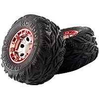 2 Paar Ersatzreifen Reifen Räder für 1//24 RC car