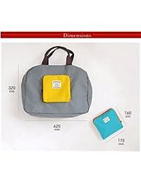 New Folding Reusable Women Fashion Bags Travel Portable Folding Pouch Waterproof Shoulder Bag Street Shopping...