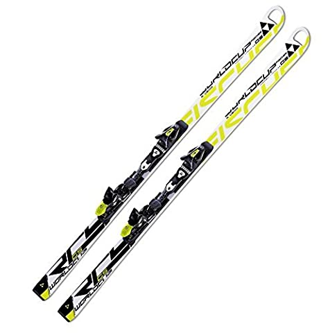 Ski Fischer RC4 World Cup GS Junior + RC4 Binding Lengths Available Size:130 cm