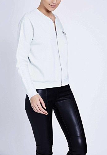 khujo - Sweat-shirt - Uni - Manches Longues - Femme Small bleu foncé