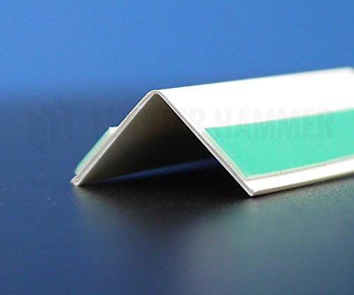 Knickwinkel selbstklebend Winkelleiste 15x15mm 50m lang Winkelprofil Fensterleiste auf Rolle