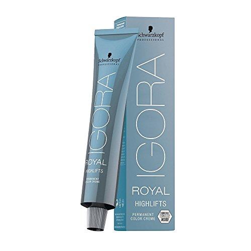 Schwarzkopf Igora Royal High Lift Permanent Hair Colour - 12-1 Special Blonde Cendre 60ml - High Definition Body Lift