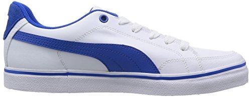 Puma Court Point Vulc Herren Sneakers Weiß (white-strong blue 03)