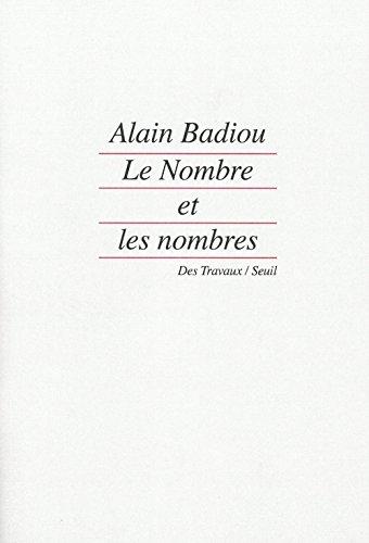 Le Nombre et les nombres par Badiou