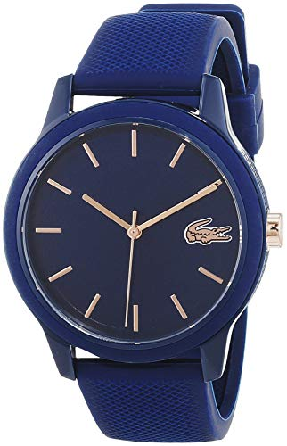 Lacoste Womens Analogue Classic Quartz Watch with Silicone Strap 2001067