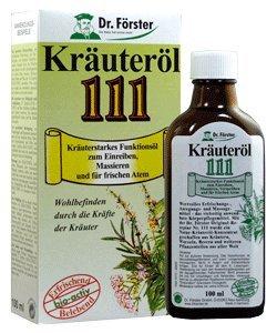 Preisvergleich Produktbild Dr. Förster Kräuteröl 111,  100 ml