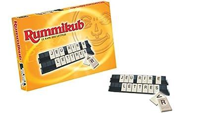 Rummikub - Jeu de societe Rummikub Lettres - Jeu de réflexion éducatif - Version française