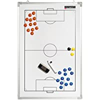 Derbystar - Tabla para tácticas de fútbol Unisex, Unisex, Taktiktafel Fussball, weiß