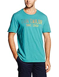 Tom Tailor Colour Gradient Print Tee, T-Shirt Homme