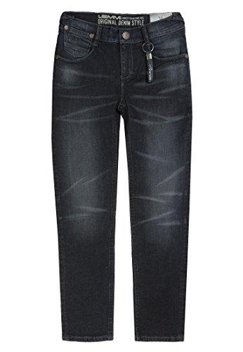 Lemmi Jungen Jeanshose Hose Jeans Boys Tight fit MID Blau (Dark Blue Denim 0012) 152