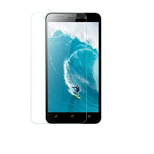 SNOOGG Micromax Canvas Spark q380Full Body Tempered Glass Screen Protector [ Full Body Edge to Edge ] [ Anti Scratch ] [ 2.5D Round Edge] [HD View] - White  available at amazon for Rs.99