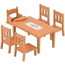 Sylvanian Families 2933 - Mesa y sillas de comedor [Importado de Alemania]