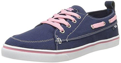Xti Zapato Sra. Lona Navy, Scarpe per Donna Blu