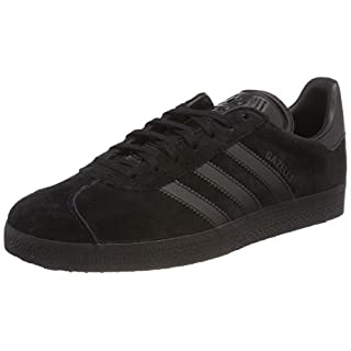 adidas Men's Gazelle Gymnastics Shoes, Core Black, 8 UK 42 EU