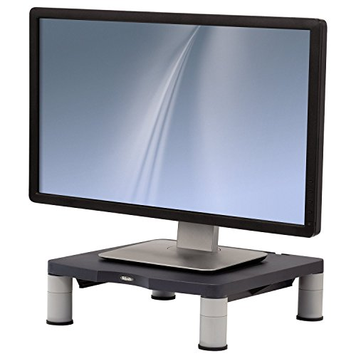 Fellowes Standard Monitor Riser - Graphite UK