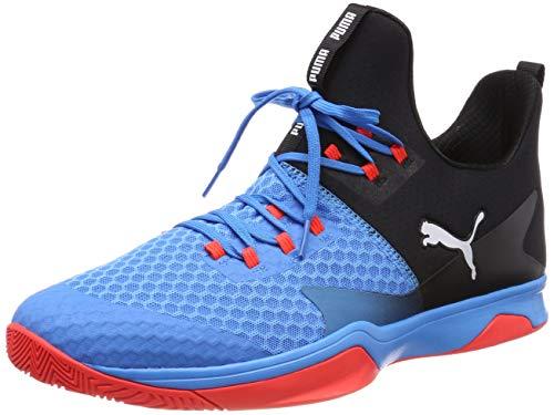 Puma Unisex-Erwachsene Rise XT 3 Multisport Indoor Schuhe Blau (Bleu Azur-Red Blast Black), 40 EU