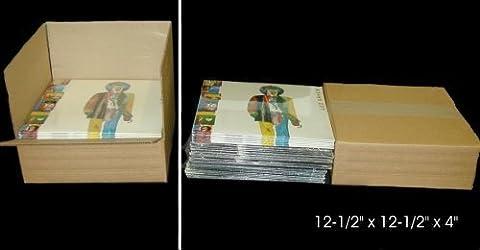 10 Kraft Brown 4-30 Vinyl 12 Record Cardboard Multi-Depth Mailers
