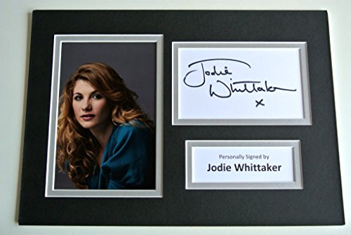 sportagraphs-jodie-whittaker-signed-autograph-a4-photo-mount-display-broadchurch-tv-coa-perfect-gift