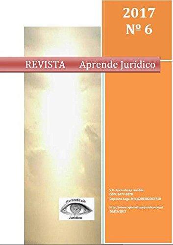 Revista Aprende Jurídico. Vol. 6 por Atilio Noguera