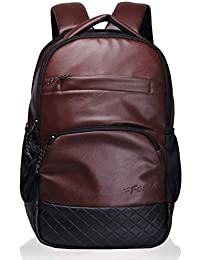 F Gear Luxur Brown 25 Liter Laptop Backpack
