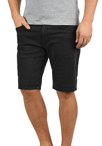 Redefinded Rebel Morton Herren Jeans Shorts Kurze Denim Hose Aus Stretch-Material Regular Fit, Größe:XL, Farbe:Black
