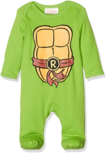 Mothercare Jungen Strampelanzug, Teenage Mutant Ninja Turtles, grün, (Mutant Schlafanzug Ninja Turtles Teenage)