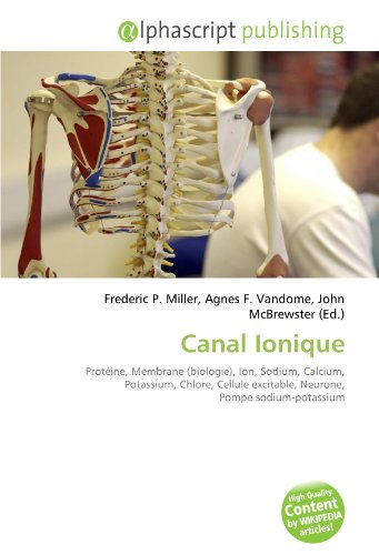 Canal Ionique: Protéine, Membrane (biologie), Ion, Sodium, Calcium, Potassium, Chlore, Cellule excitable, Neurone, Pompe sodium-potassium