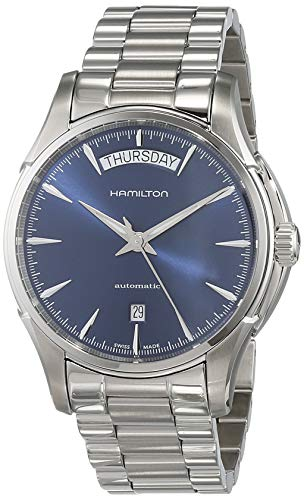 Hamilton Herren Analog Automatik Uhr mit Edelstahl Armband H32505141