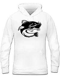 suchergebnis auf amazon de f r l welse bekleidung Largest Catfish shirtcity wels catfish icon frauen kapuzenpullover