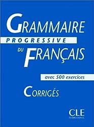 Grammaire Progressive Du Francais: Intermediaire CorrigesGrammaire progressive du français, niveau intermédiaire : Corrigés