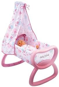 Smoby - 24015 - Poupée et Mini-Poupée - Baby Nurse - Bercelonnette