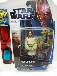 Star Wars Movie Qui-Gon Jinn incl. 3-D Brille 38594 (Jinn Qui Kostüm Gon)
