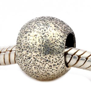 (Andante-Stones 925 Sterling Silber Gold Bead