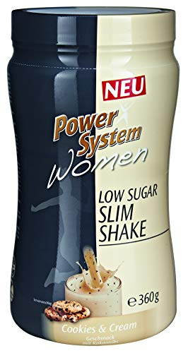 Power Protein Cookie (Power System Women LOWer Carb Protein Shake (Cookie & Cream - 360 g))