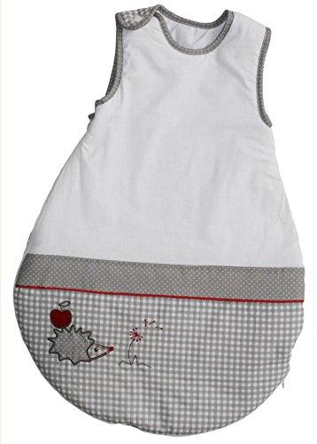 ROBA Baumann GmbH roba Schlafsack, 70cm, Babyschlafsack ganzjahres/ganzjährig, aus atmungsaktiver Baumwolle, Kollektion 'Adam & Eule'