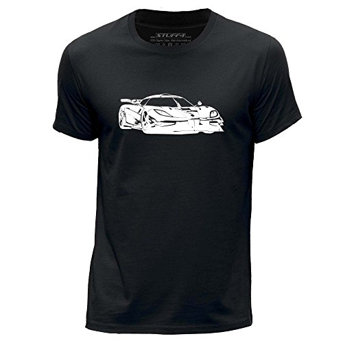 stuff4-herren-mittel-m-schwarz-rundhals-t-shirt-schablone-auto-kunst-k-one
