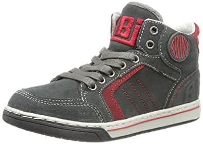 REPLAY Parsons GBZ03 .000.C0011L, Jungen Sneaker, Mehrfarbig (STONE RED 1696), EU 34