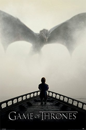 Grupo Erik Editores Game Of Thrones ( A Lion & A Dragon) - Poster