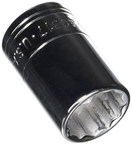 SK Hand Tool 40317 12 Point 17mm Standard Drive Socket, 1/2-Inch, Chrome by SK Hand Tool - Standard-torx Socket