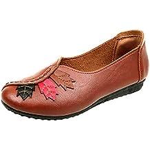 Zapatos es Amazon Mujer De Baratos Marrón C1vwT5nq