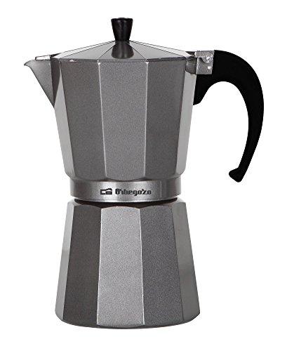 Orbegozo KFS 620 620-Cafetera de Aluminio, 6 Tazas, Color, Plata